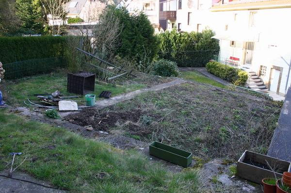 Garten ohne Stangen 1